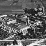Luftbild Zentralgefängnis Freiendiez 1933 Schirlinger Feld