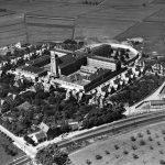 Luftbild Zentralgefängnis Freiendiez 1933, Hain